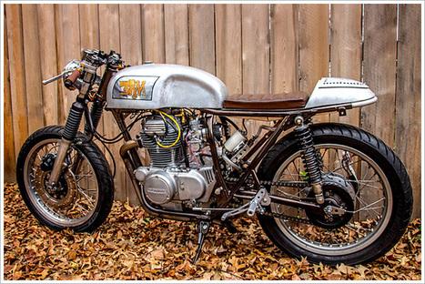 Honda CB360 - Rust Revival & Retro Moto   Smotra-moto.ru   Scoop.it