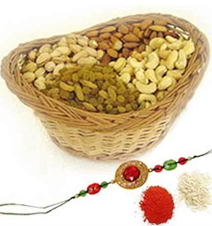Buy Rakhi with Dryfruits | Rakhi with Dryfruits | Scoop.it