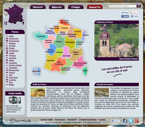 France Voyage - découvrir la France en un clin d'oeil | beaux sites et villages de France - France nicest villages and sites | Scoop.it