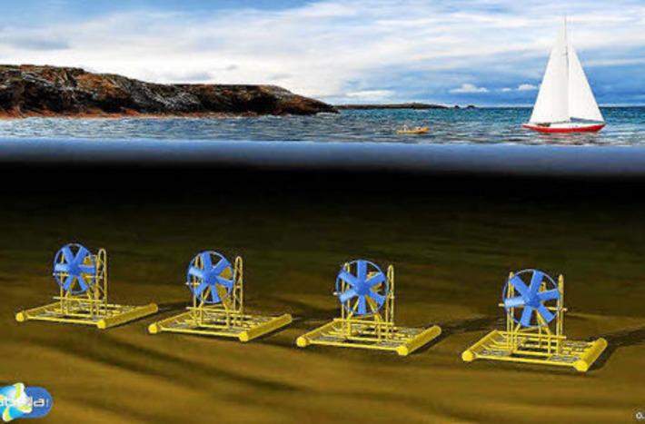 Découvrez l'hydrolienne la Sabella, qui va produire de l'électricité renouvelable au fond des océans   ISR, RSE & Développement Durable   Scoop.it