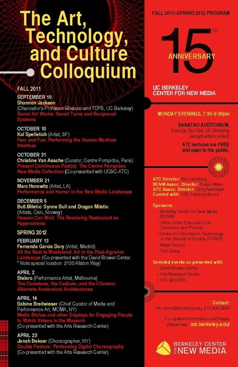 The Art, Technology, and Culture Colloquium | The Robot Times | Scoop.it