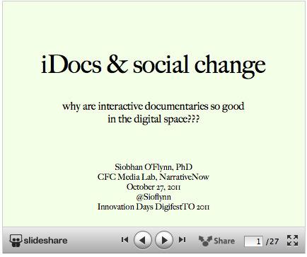 Interactivity and Transmedia: new presentations | i-docs | Transmedia Landscapes | Scoop.it