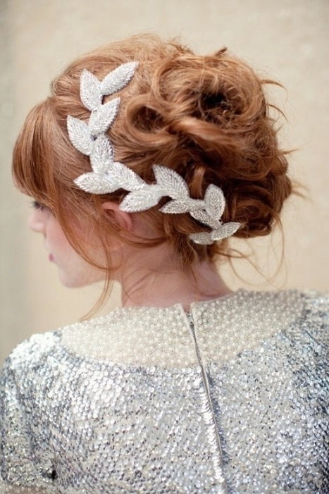 40 Gorgeous Wedding Updo Hairstyle Ideas | EntertainmentMesh | Scoop.it