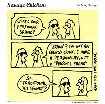 Friday Cartoon -- Personal Branding | Just Story It | Scoop.it