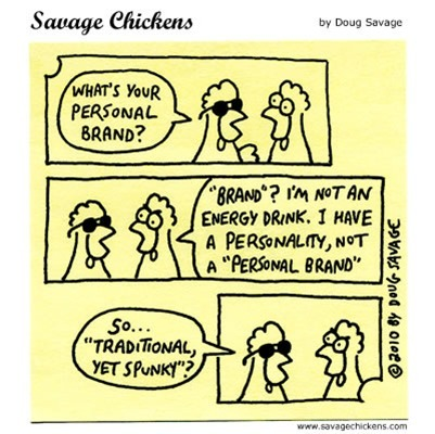 Friday Cartoon -- Personal Branding | Just Story It Biz Storytelling | Scoop.it