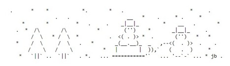 ASCII Art Snowmen - ascii-code.com | ASCII Art | Scoop.it