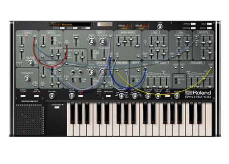 Roland revives semi-modular System-100 as plug-out synth | DJing | Scoop.it
