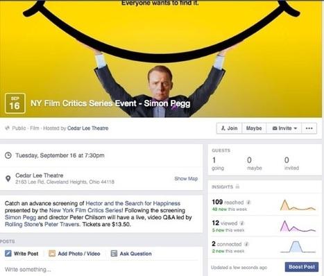 Les statistiques des événements Facebook sont disponibles   CommunityManagementActus   Scoop.it