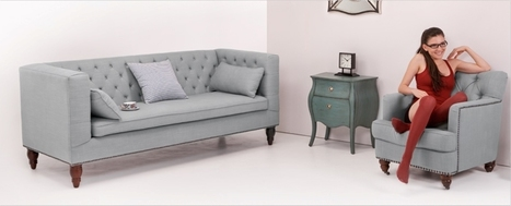 Beautiful Furniture from Flynn Collection by Made.com | yourhomyhome.com | Modern Home Design | Scoop.it