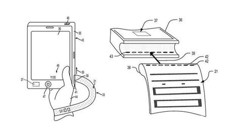 Patent Suggests High Tech Band For Apple Watch 2 | Digital Health | Scoop.it
