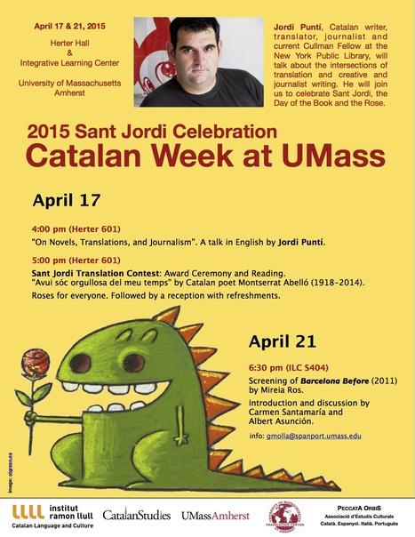 """On Novels, Translations, and Journalism"" --a talk by Jordi Puntí | The UMass Amherst Spanish & Portuguese Program Newsletter | Scoop.it"
