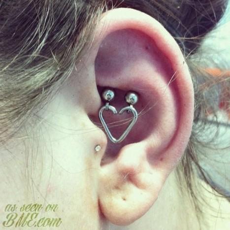Alternative Heart Ear Method   BME: Tattoo, Piercing and Body ...   Tunnel Shop   Scoop.it