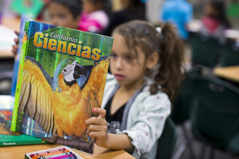 Challenges, optimism in learning Common Core in Spanish - 89.3 KPCC | ¡CHISPA!  Dual Language Education | Scoop.it