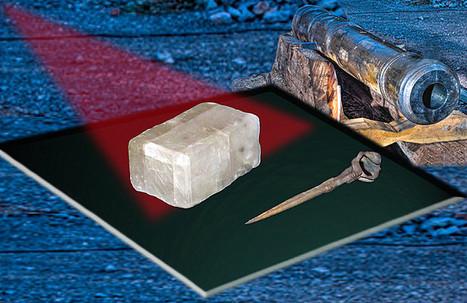 Une pierre du soleil découverte dans une épave | Actualité des îles anglo normandes | Scoop.it