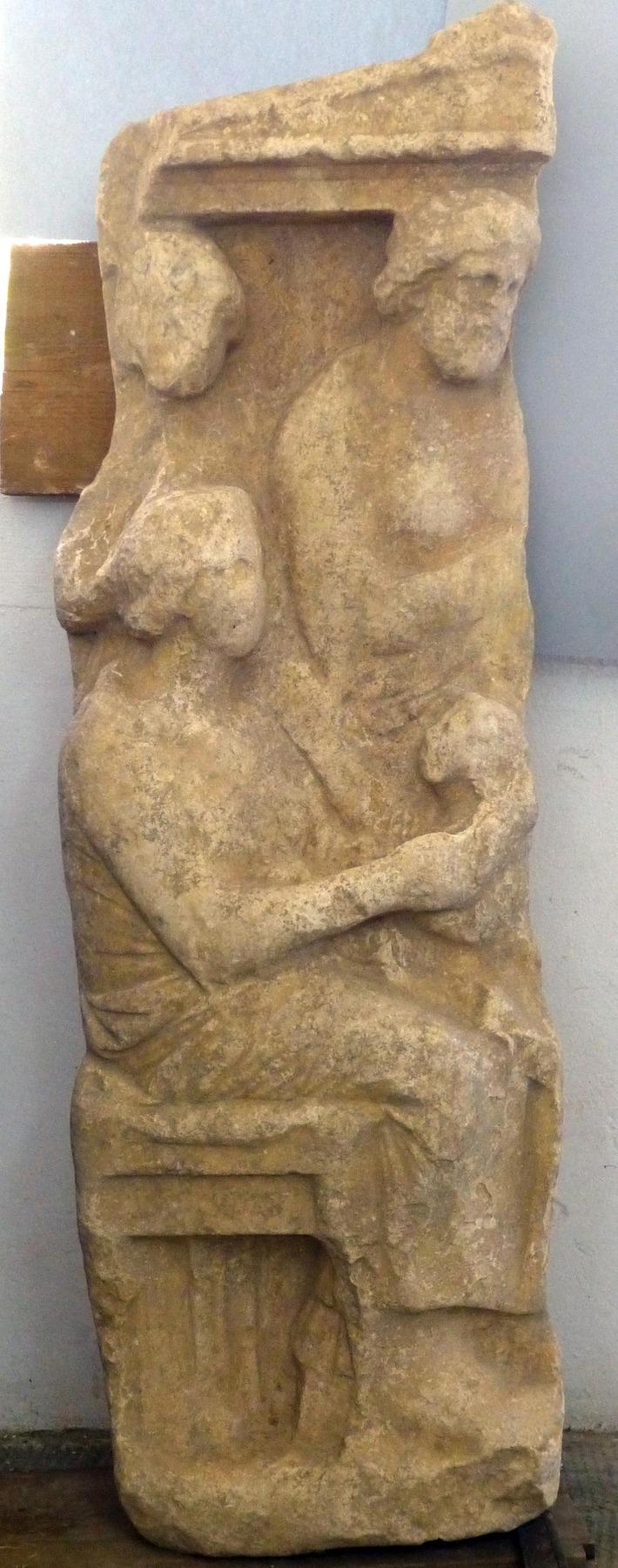 Fragment of ancient grave stele unearthed at Kerameikos in Athens | Past Horizons | Kiosque du monde : A la une | Scoop.it