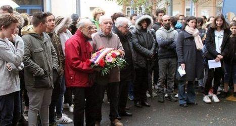Les collégiens commémorent (11 nov 2016)   Revue de presse du Lycée Collège Vincent Auriol   Scoop.it