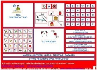 AUDICIÓN Y LENGUAJE: NIVEL FONOLÓGICO-LECTURA: ABC FONÉTICO (MULTIMEDIA)   Dificultades de aprendizaje escolar   Scoop.it