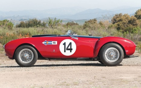 '53 Ferrari 375 MM Wins Best of Show at Concours on the Avenue   Ferrari Journal   Scoop.it