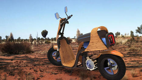 This Bamboo Scooter Runs On Nothing But Air | This Gives Me Hope | Scoop.it