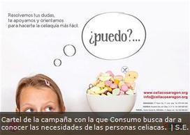 Consumo busca dar a conocer las necesidades de las personas celiacas en Aragón | Gluten free! | Scoop.it