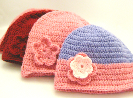 Double Crochet Beanie Tutorial For Beginners ∙ How To by Mel W ... | Crafting and Crafts | Scoop.it