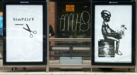 Brandalism: quand le street art remplace les publicités | Géographie : les dernières nouvelles de la toile. | Scoop.it