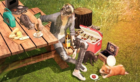 #276 Cats Garden | 亗  Second Life Fashion Addict  亗 | Scoop.it