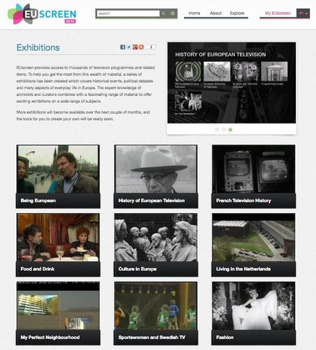 A Curated Collection of European Historical TV Programmes: EUscreen Exhibitions | Content Curation World | Scoop.it