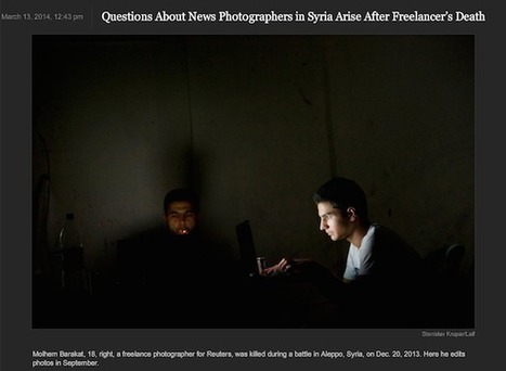 #media Reuters Responds to Accusations Leveled at the Agency in the NY Times Lens Blog | News in english | Scoop.it