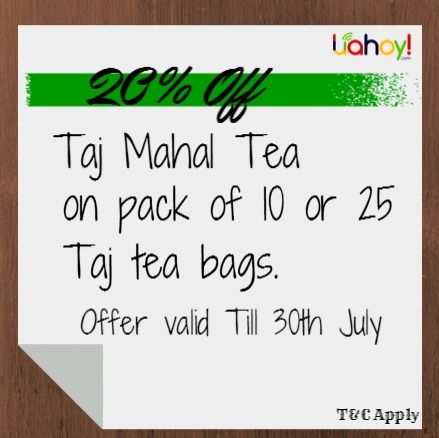 Enjoy Monsoon with Taj Mahal Tea offer   Free Coupon Deals Near by your city   Scoop.it
