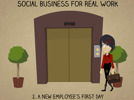 Social Business For Real Work 2: A New Employee's First Day - Business 2 Community | Digital-News on Scoop.it today | Scoop.it