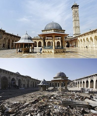 Syria's heritage in RUINS: before-and-after pictures | Le BONHEUR comme indice d'épanouissement social et économique. | Scoop.it