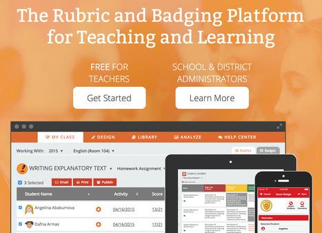 ForAllRubrics: The rubric & badging platform | Herramientas para investigadores | Scoop.it