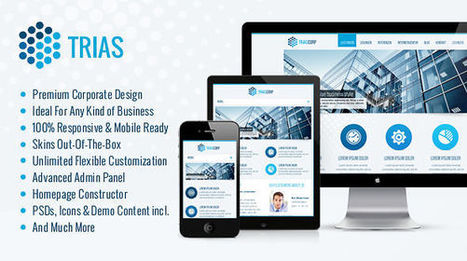 Trias WordPress Theme | MyThemeCafe | Website Premium Theme Directory | Scoop.it