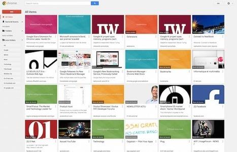 Google lance une nouvelle version de son gestionnaire de favoris pour Chrome | François MAGNAN  Formateur Consultant | Scoop.it