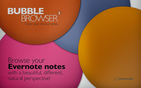Bubble Browser for Evernote | MI apps | Scoop.it
