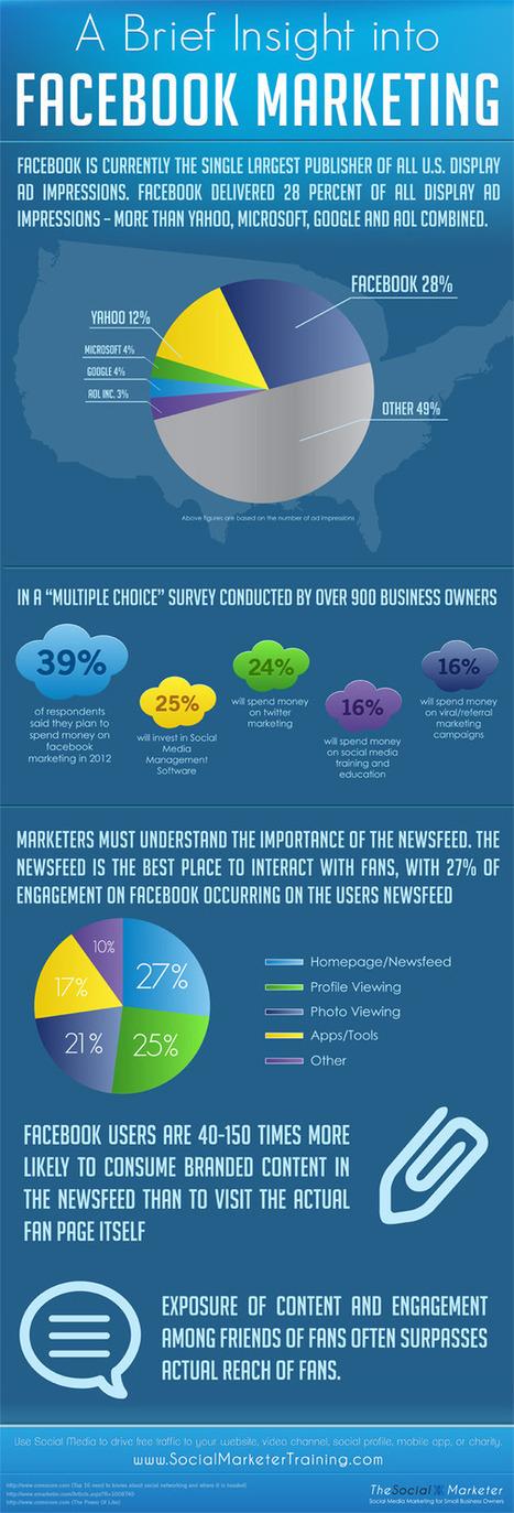A Brief Insight Into Facebook Marketing (Infographic) 2012   Social Media Today   Social Media Maven   Scoop.it