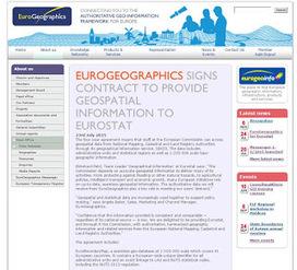 EuroGeographics porporciona información geospacial a Eurostat
