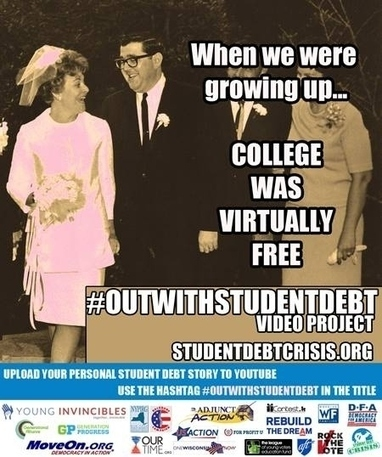 10 Reasons Why America Should Come #OutWithStudentDebt | studentdebt | Scoop.it