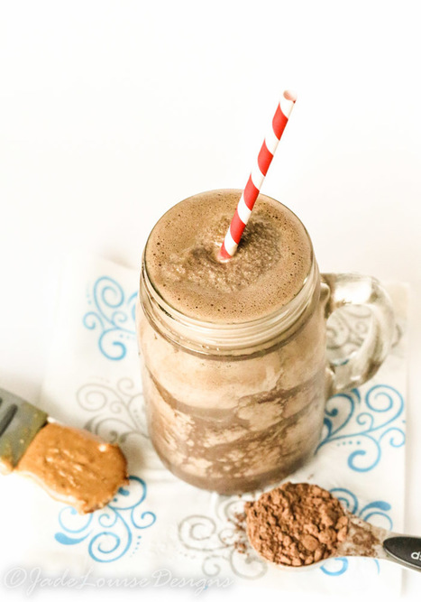 Migraine Busting Healthy Chocolate Peanut Butter Shake | fair trade chocolate | Scoop.it