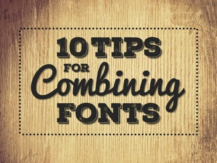 10 Tips For Combining Fonts | Educatief Internet - Gespot op 't Web | Scoop.it