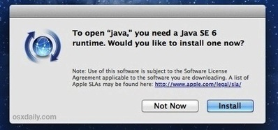 How to Install Java in OS X Mavericks | 21st Century Mathematics | Scoop.it
