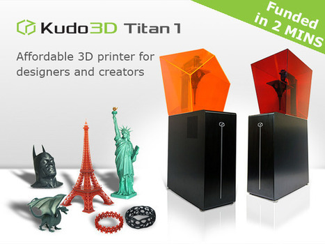Titan 1: Fastest, Tallest Print, High Res SLA 3D Printer | Additive Manufacturing News | Scoop.it