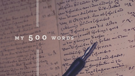 500 Words a Day: The Secret to Developing a Regular Writing Habit | Goins, Writer | Writing twirls | Scoop.it
