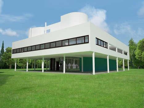 Tribute and Analysis of Le Corbusier | VisualArq. Free-form 2D & 3D architecture modeling tools for Rhinoceros. | Scoop.it