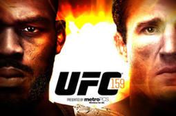 UFC 159: Jones Vs. Sonnen – Odds and Outlook | ufc information websites | Scoop.it