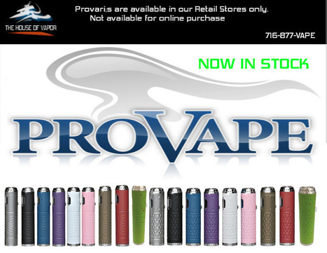 Electronic Cigarettes at House of Vapor | The House of Vapor | Scoop.it