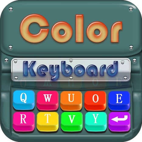 Color Keyboard HD+ | iPad Recommended Educational App Lists | Scoop.it
