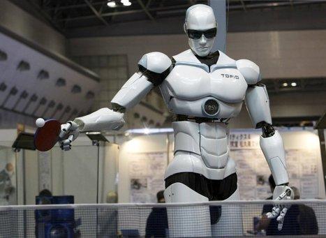 Robots que divierten y trabajan duro | tecno4 | Scoop.it