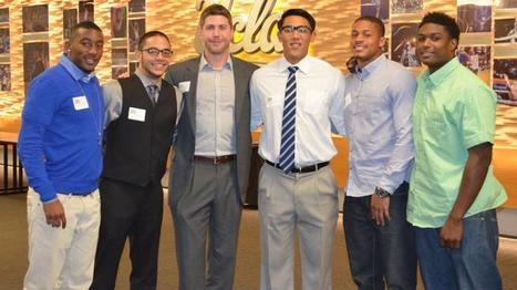 Freshmen Football Players Attend Etiquette Dinner - UCLA Athletics Official Site | Address Protocol Requirements | Scoop.it